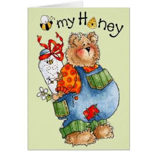 蜂私の蜂蜜-バレンタインのカード カード