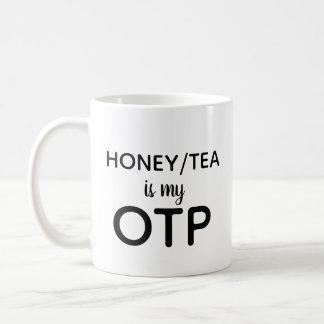 蜂蜜か茶は私のOTPです コーヒーマグカップ