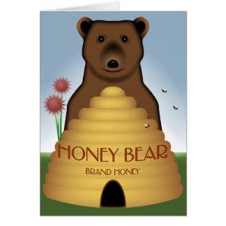 蜂蜜くまカード カード