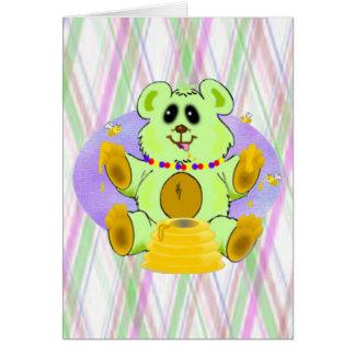 蜂蜜くま カード