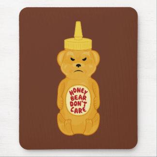蜂蜜くま マウスパッド