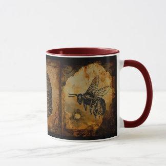 蜂蜜のはちの巣のマグ マグカップ
