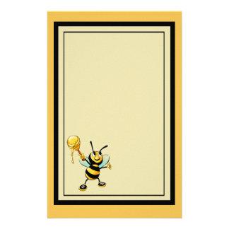 蜂蜜のスコップとの幸せなのまわりに 便箋