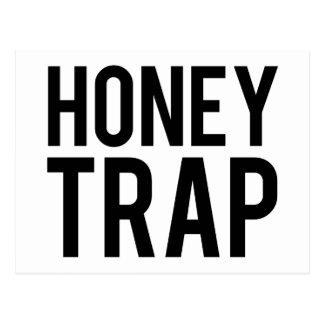 蜂蜜のトラップ ポストカード