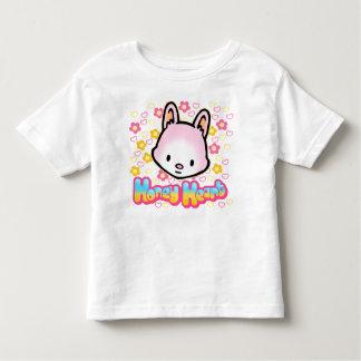 蜂蜜のハートの幼児のTシャツ トドラーTシャツ