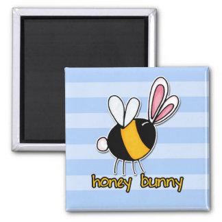 蜂蜜のバニー マグネット