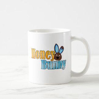 蜂蜜のバニーblue.png コーヒーマグカップ
