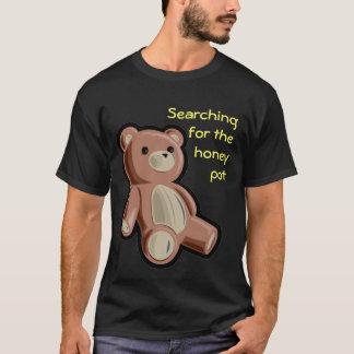 蜂蜜のポットを捜すこと Tシャツ