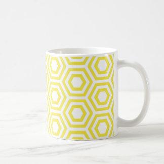 蜂蜜の六角形のマグ コーヒーマグカップ