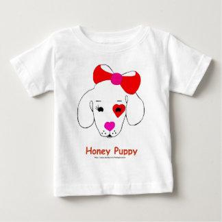 蜂蜜の子犬のワイシャツ ベビーTシャツ