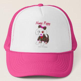 蜂蜜の子犬の帽子 キャップ