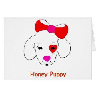 蜂蜜の子犬の新しい有名ブランド商品 カード