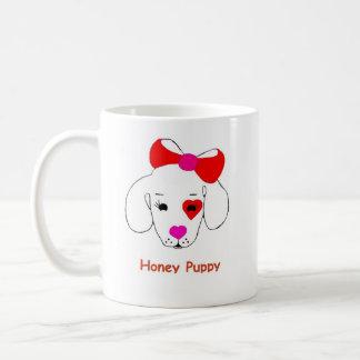 蜂蜜の子犬の新しい有名ブランド商品 コーヒーマグカップ