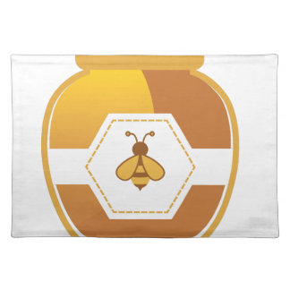 蜂蜜の瓶 ランチョンマット