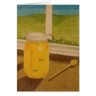 蜂蜜の菓子の単語 カード