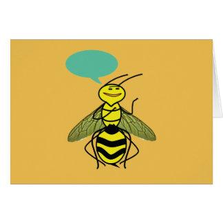 蜂蜜の蜂が言った何を カード