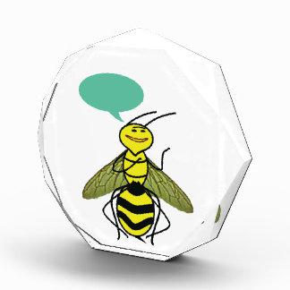 蜂蜜の蜂が言った何を 表彰盾