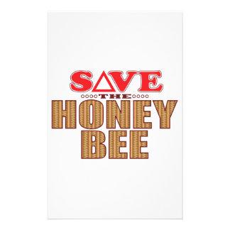 蜂蜜の蜂の保存 便箋