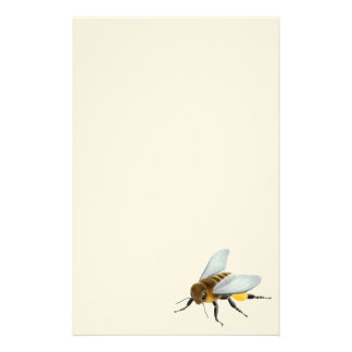 蜂蜜の蜂の文房具 便箋