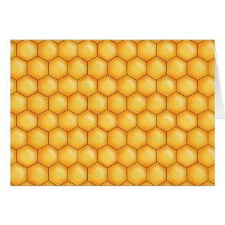 蜂蜜の蜂の櫛の質 カード