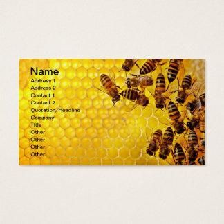 蜂蜜の蜂の蜂蜜の販売人の養蜂家のApiarist 名刺