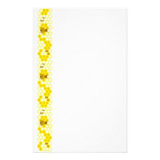 蜂蜜の蜂の黄色の蜜蜂の巣の文房具 便箋