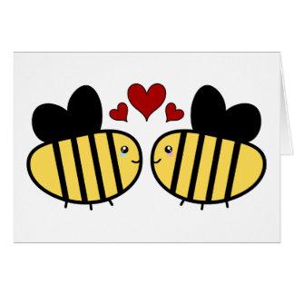 蜂蜜の蜂愛 カード