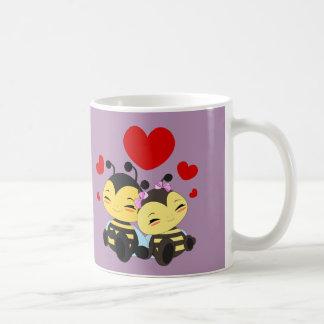 蜂蜜の蜂愛-マグ コーヒーマグカップ