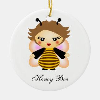 蜂蜜の蜂 セラミックオーナメント
