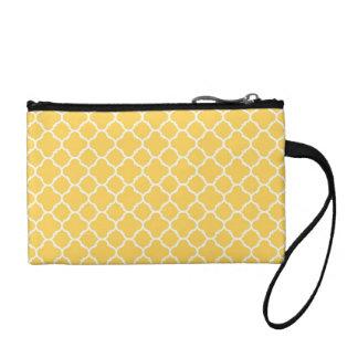 蜂蜜の黄色いクローバーパターン コインパース