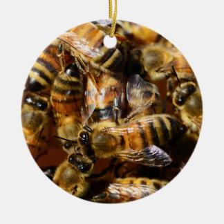 蜂蜜、私はの蜂蜜の蜂愛します セラミックオーナメント