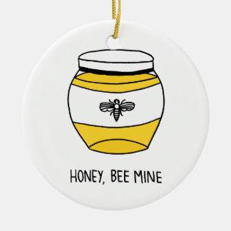 蜂蜜、蜂鉱山 セラミックオーナメント