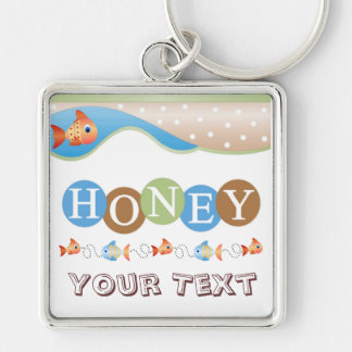 蜂蜜Keychain キーホルダー