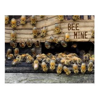 蜂鉱山の郵便はがき ポストカード