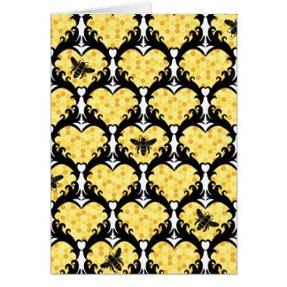 蜂鉱山、蜂蜜のバレンタイン カード