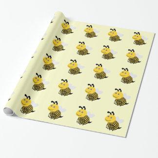 蜂 ラッピングペーパー