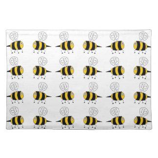 蜂-黄色 ランチョンマット