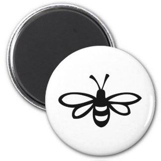 蜂[黒] マグネット