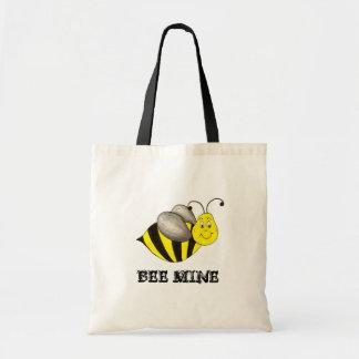 蜂 (Be)鉱山の黄色の《昆虫》マルハナバチのバレンタインデーのバッグ トートバッグ