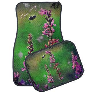 蜂Nの野生の花の産業カーマットは*Personalize カーマット