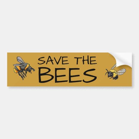 蜂v2を救って下さい バンパーステッカー