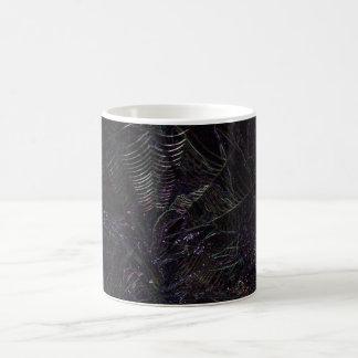 蜘蛛の巣のマグ モーフィングマグカップ