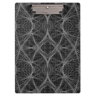 蜘蛛の巣の抽象芸術 クリップボード
