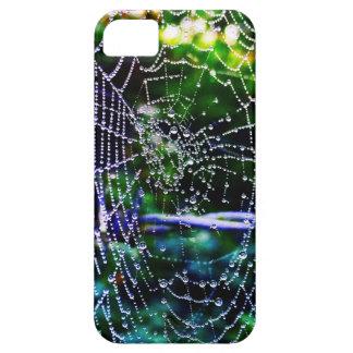 蜘蛛の巣の水滴 iPhone SE/5/5s ケース