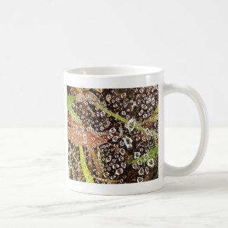 蜘蛛の巣の結露 コーヒーマグカップ