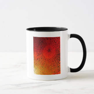 蜘蛛の巣の芸術 マグカップ