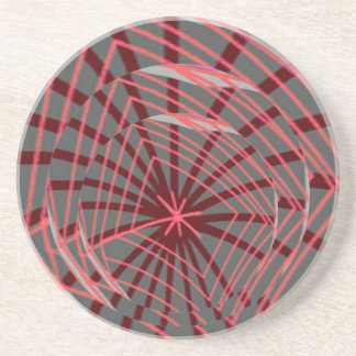 蜘蛛の巣のSpiderwebのエキゾチックなデザイン コースター
