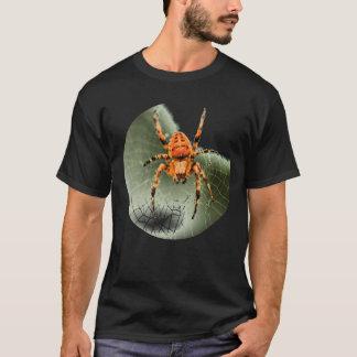 蜘蛛の巣のTシャツ Tシャツ