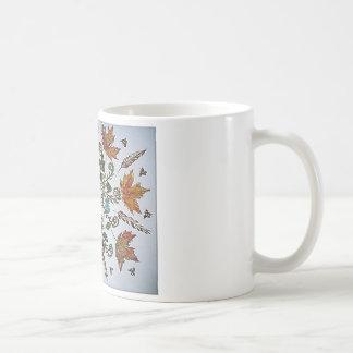 蜘蛛の巣-くも-蟻および蜂 コーヒーマグカップ