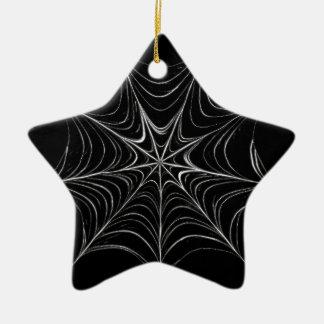 蜘蛛の巣 セラミックオーナメント